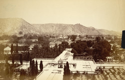 View of a garden at Rampur